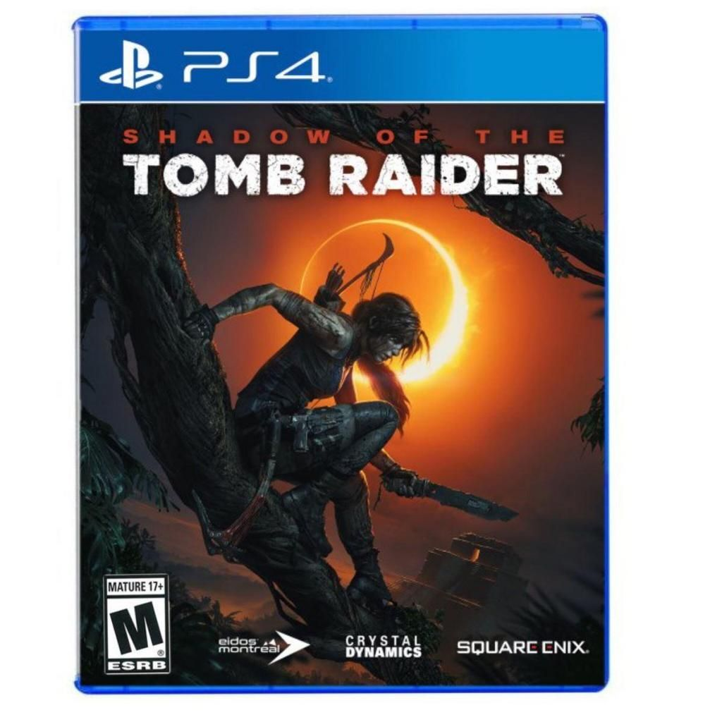 Shadow Of The Tomb Raider / PS4 Físico