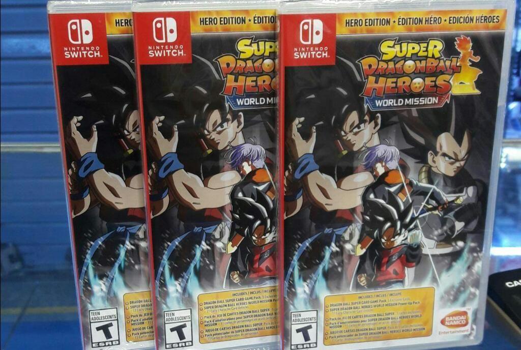 Super Dragon Ball Heroes Nintendo Switch Nuevo y Sellado