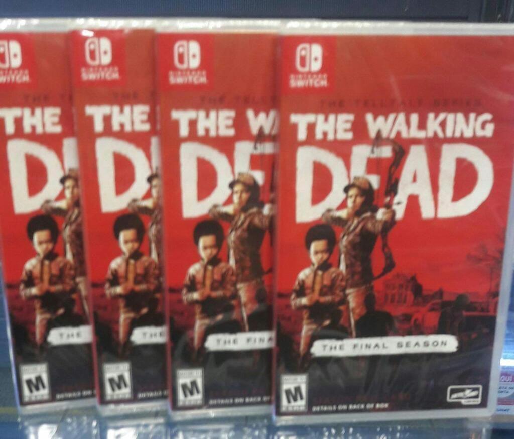 The Walking Dead Nintendo Switch Nuevo y Sellado Stock
