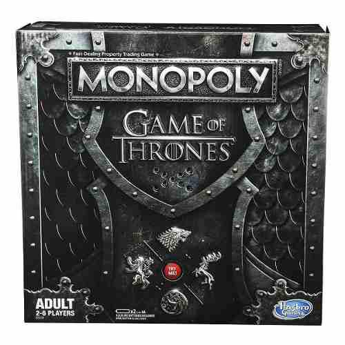 Monopoly Game Of Thrones (adultos)
