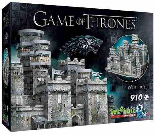 Rompecabezas 3d De Winterfell Game Of Thrones 910 Piezas
