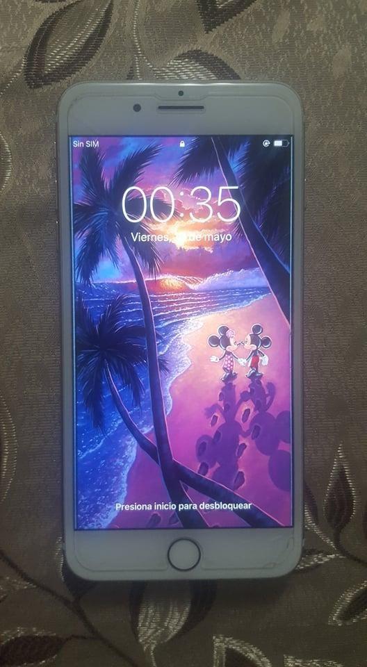 iPhone 7plus Dorado - 32 GB en excelente estado