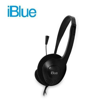 Audifono C/microf Iblue Black