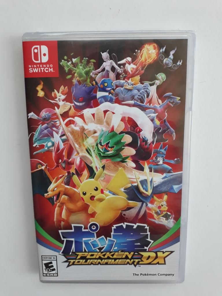 Pokemon Pokken Tournament Dx juego Nintendo Switch Nuevo Y