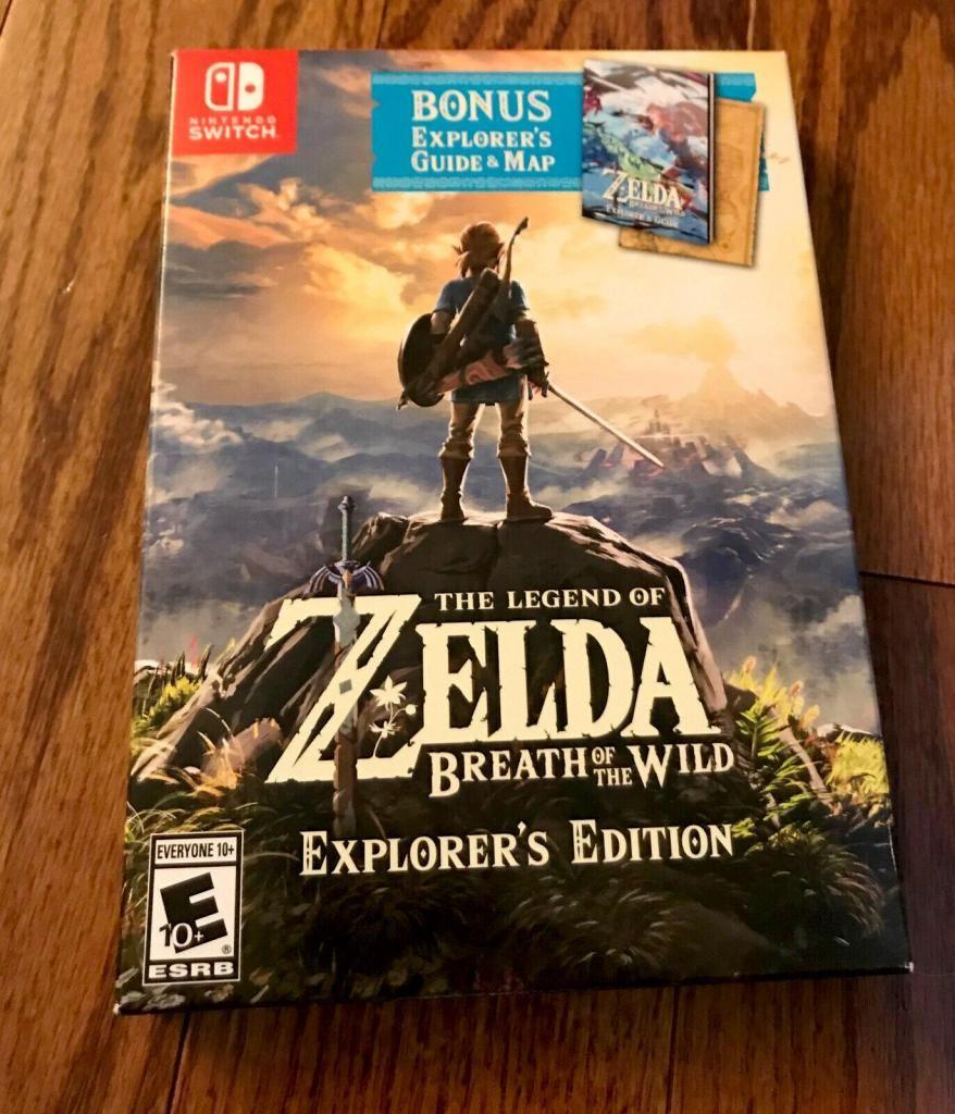 The Legend Of Zelda Breath Of The Wild Explorers Edition