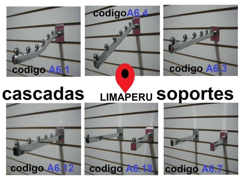 EXIBIDORES DE ROPA CROMADOS