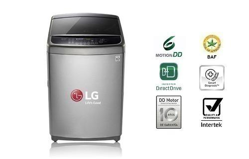 Lavadora Lg Ts1300dps Capacidad 13 Kg - Color Silver.