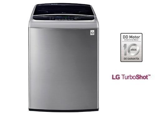 Lavadora Lg Ts1800 Capacidad 18 Kg - Color Silver.