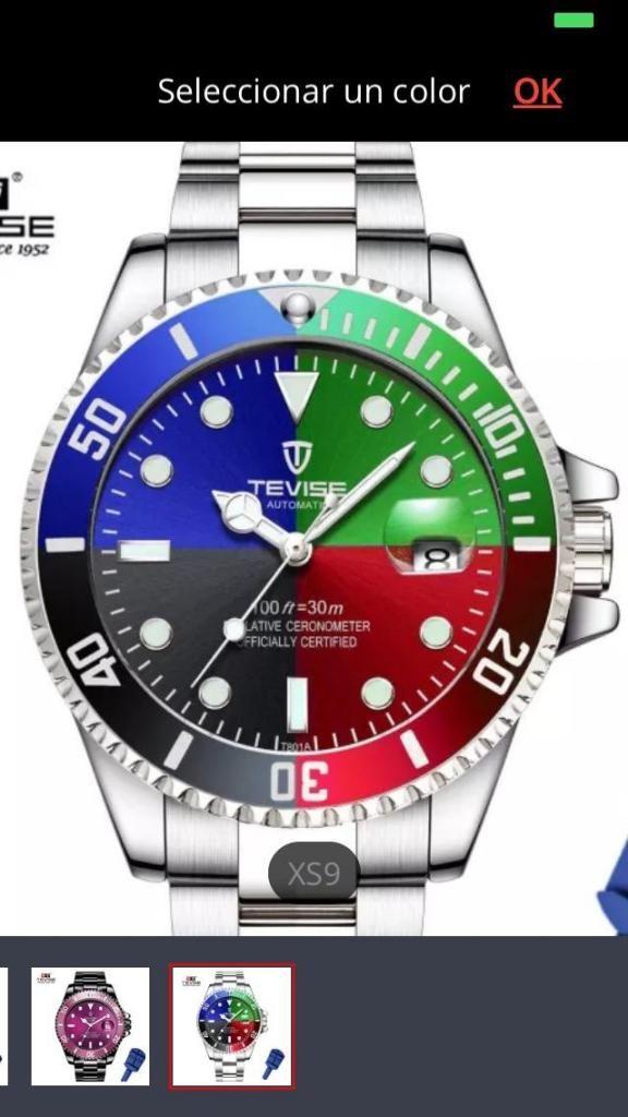 Super Reloj Automático de  Te
