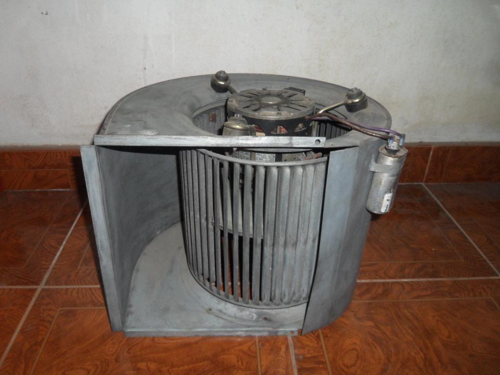 Ventilador Centrifugo con motor de 3/4 HP USADO