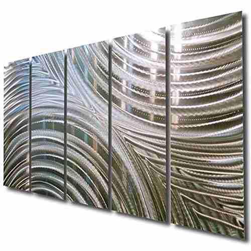 Bettalicescultura De Pared De Metaldecoración De