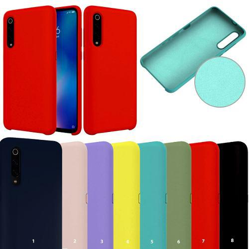Case Funda Silicona Para Xiaomi Redmi Note 7 Colores Cover