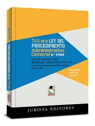 Ley Del Procedimiento Administrativo General Actualizada