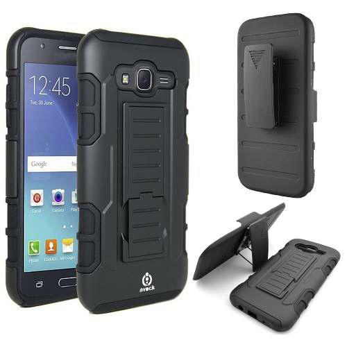 Tienda / Case Armor Samsung Galaxy J7 Prime Parante Gancho