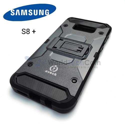 Tienda / Case Armor Samsung Galaxy S8 Plus Carcasa + Parante