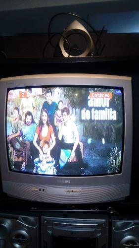 Vendo Tv Philips 21 + Control Original - Ocasion