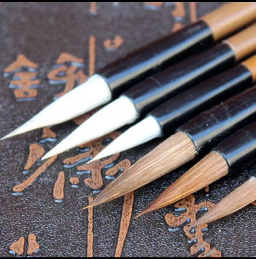 Vendo pinceles original chinos mango de bamboo pack de 3 a