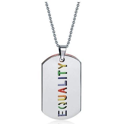 Collar De Acero Inoxidable Lgtb Equality