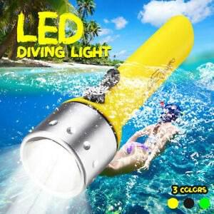 Linterna Led Submarino Buceo Impermeable Luz Lampara Antorch