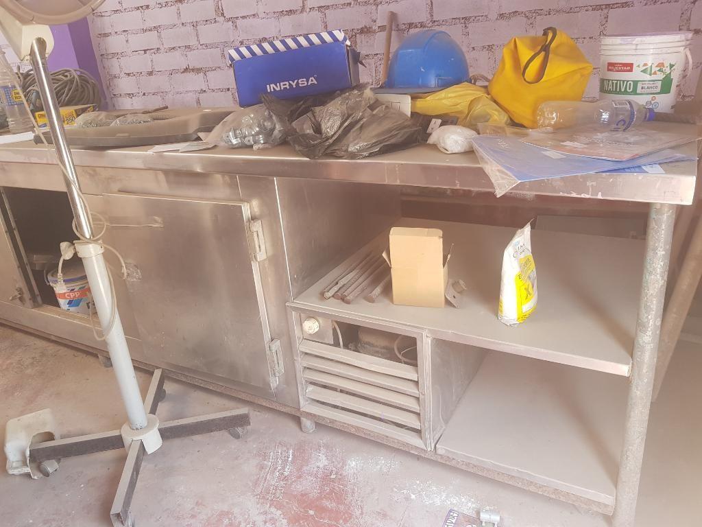 Mesa de Trabajo para Cocina Restaurante