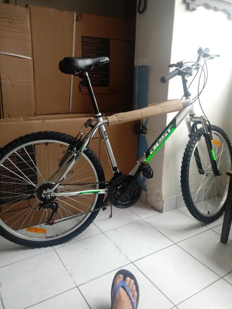Bicicleta Montañera Nueva en Caja