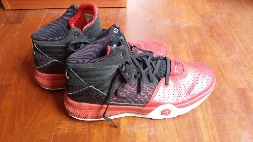Zapatillas de basket adidas bounce 9/10