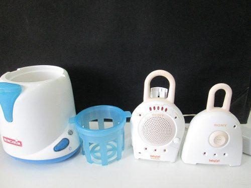Calentador De Biberon Monitor Para Bebe Avent