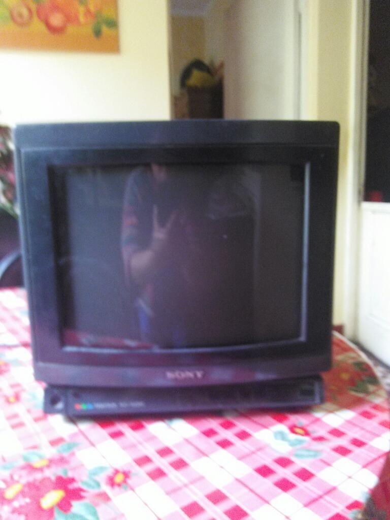 Televisor Sony Trinitron de 14 Pulgadas