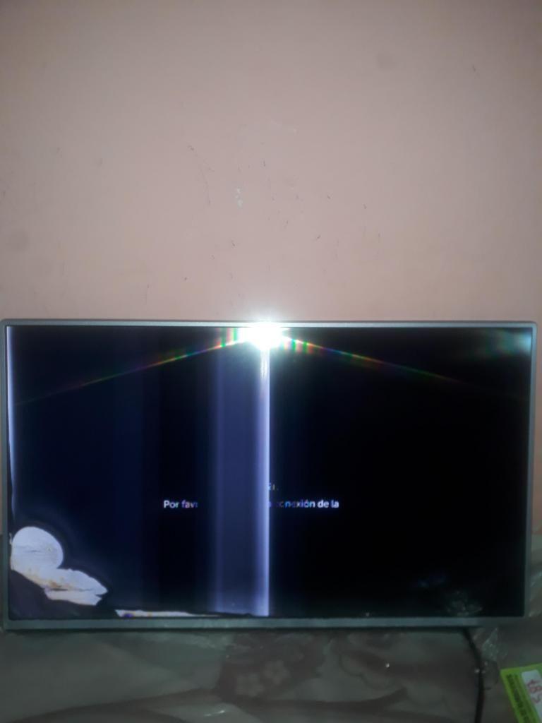 Tv Lg 43lh Led Full Hd Smart - Pantalla Rota