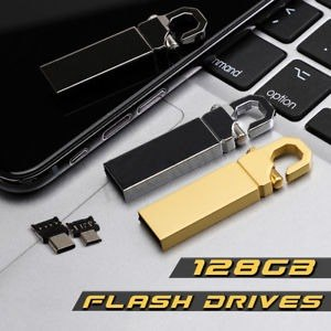 3 En 1 De Tipo C On-the-go 128 Gb Usb 2.0 Unidades Flash Mem