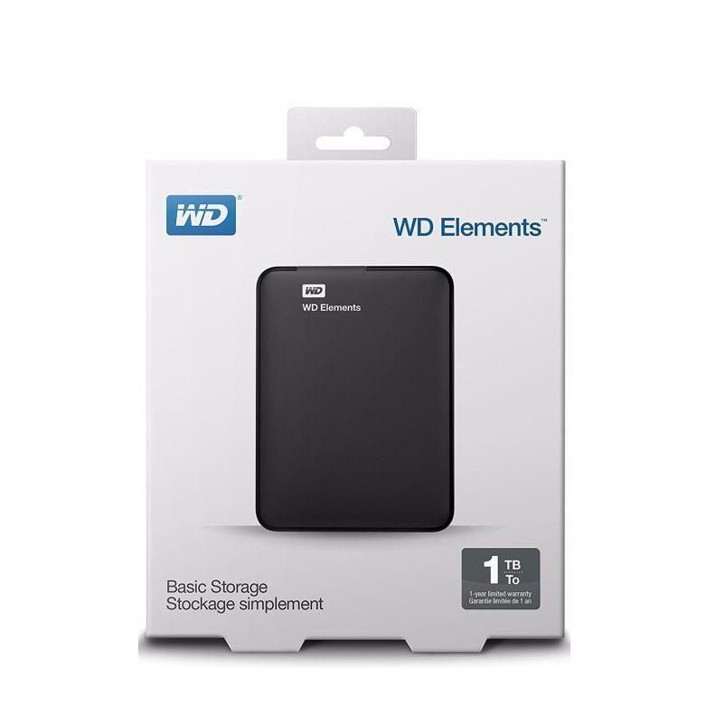 Disco duro externo 1TB Western Digital USB 3.0 Nuevo