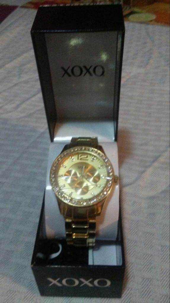 Reloj Original Nuevo Marca Xoxo con Caja