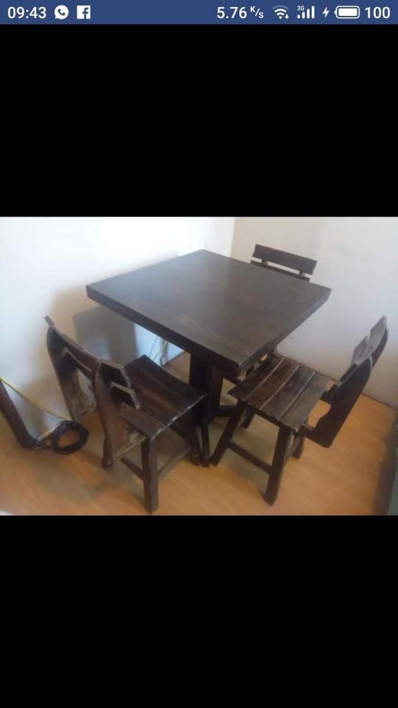 Remato Comedor Mesa 4 sillas