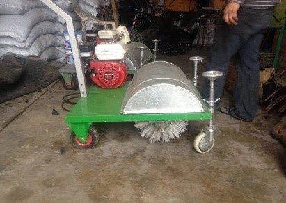 Peinadora, Cepilladora de Motor para Grass