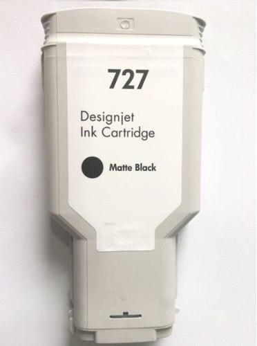 Cartucho Compatible Hp Matte Black 300 Ml Para 727
