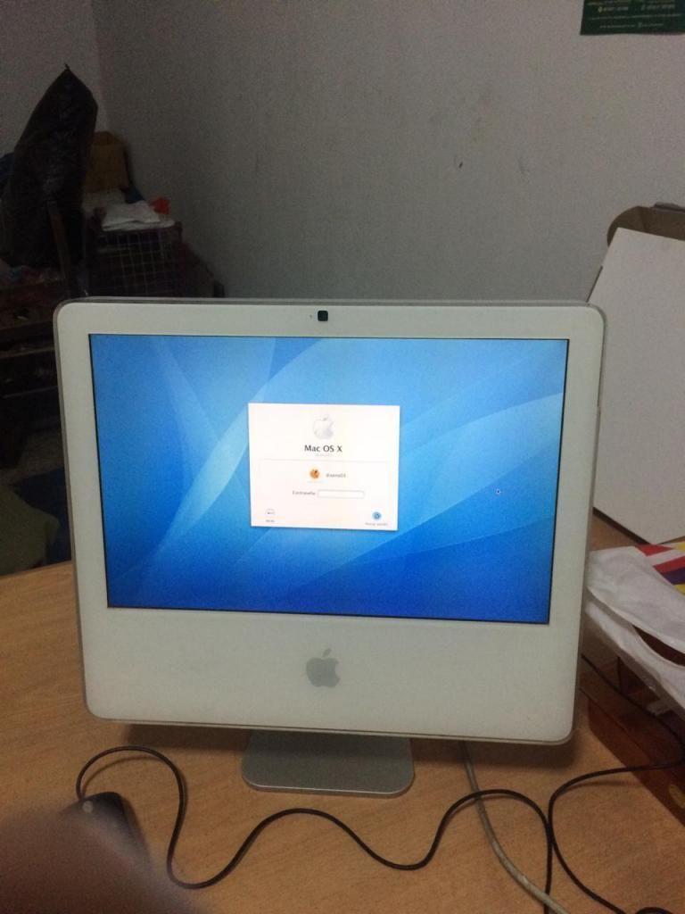 MAC OS X funcionando