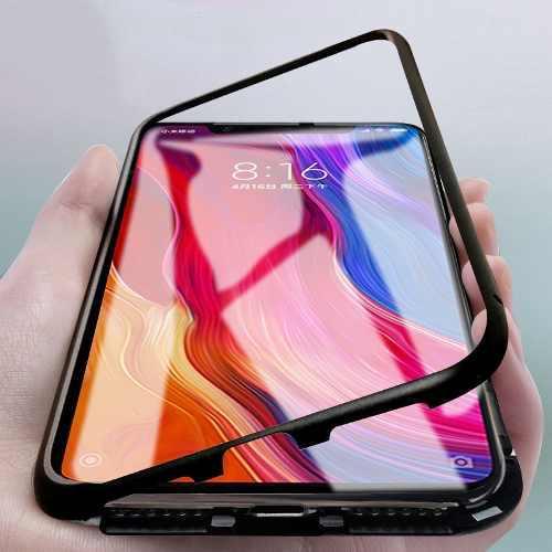 Case Bumper Magnetico Samsung Galaxy Note 8 9 Funda Metal