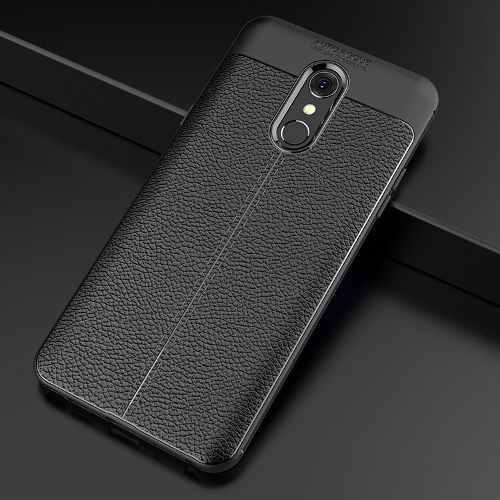 Case Premium De Tpu Tipo Cuero Lg Q Stylus Plus Protector