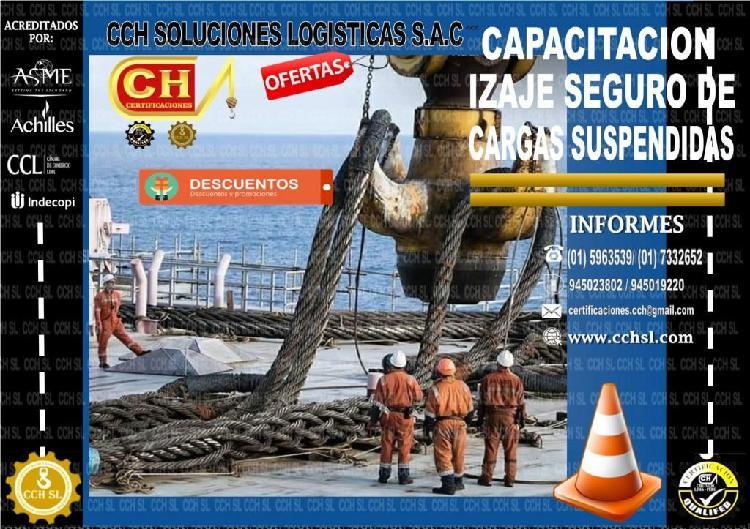 IZAJE SEGURO DE CARGAS SUSPENDIDAS, CAPACITACION,