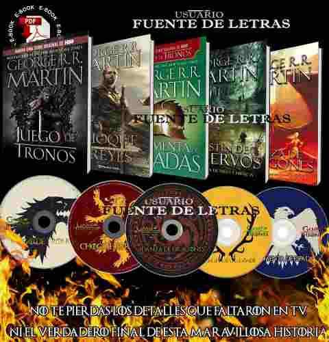 Libros Y Audiolibros Colección Completa Juego De Tronos
