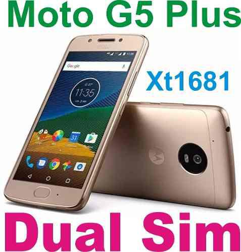 Moto G5 Plus 32gb Dual Sim Libre D Fabrica Smart Play Local