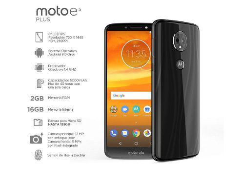 Motorola E5 Play 16gb 2gb Ram