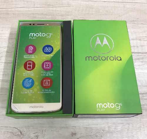 Motorola Moto G6 Play Gold 32gb 3gb Ram Seminuevo / Tienda