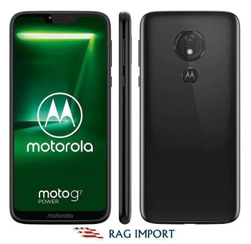 Motorola Moto G7 Power / 4gb + 64gb / 6.2 Hd / 12mp - Nuevo!