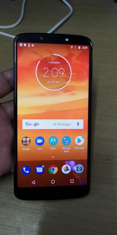 Vendo Moto E5 Plus Libre 4G todo operativo, en perfecto
