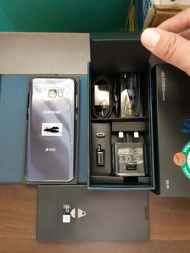Vendo Samsung Galaxy S8 Plus Duos