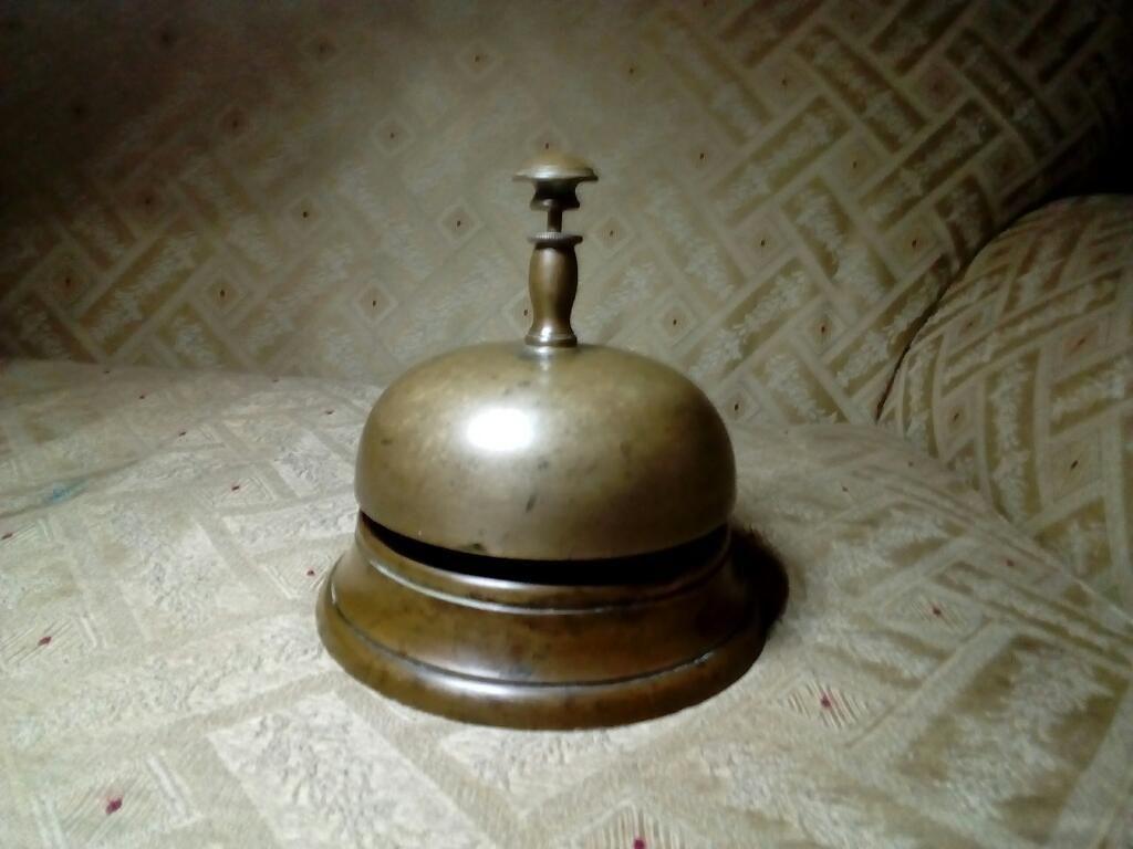 Antigua Campanilla/timbre de Bronce
