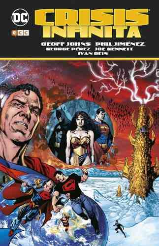 Comic Crisis Infinita Tapa Dura Dc Comics Editorial Ecc