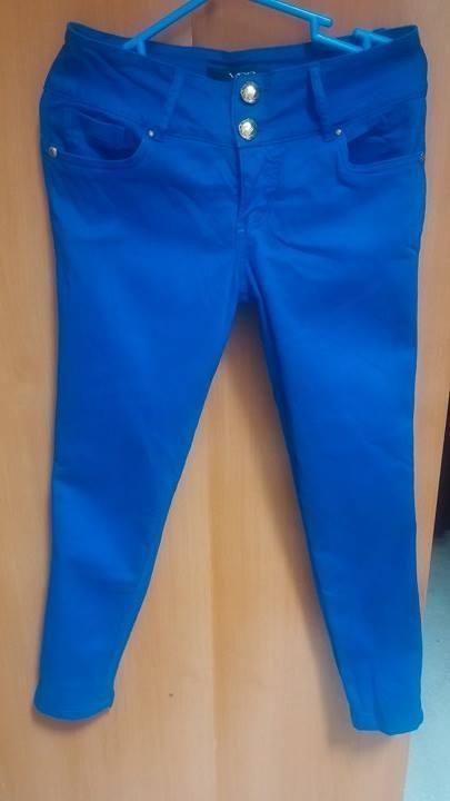 Pantalon Azul Mujer