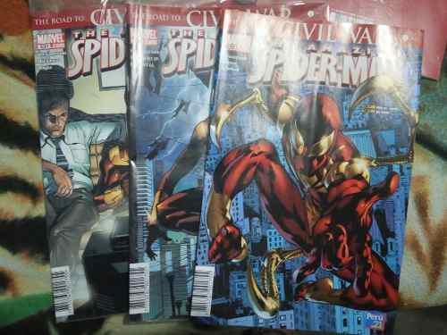 Spiderman:civilwar, Back In Blak, One More Day?! Perú 21